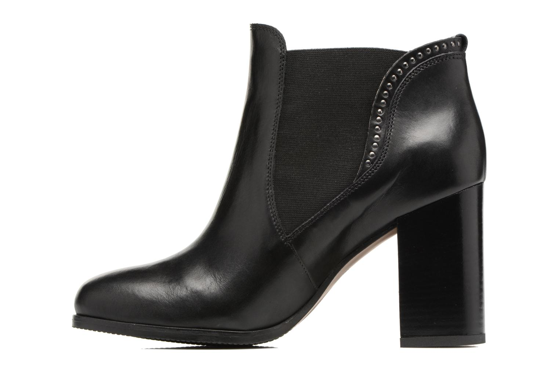Bottines et boots Georgia Rose Aclous Noir vue face
