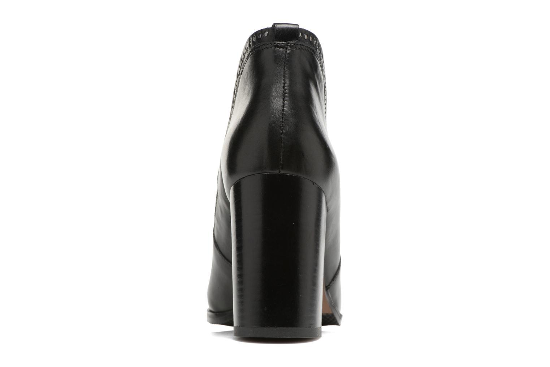 Bottines et boots Georgia Rose Aclous Noir vue droite
