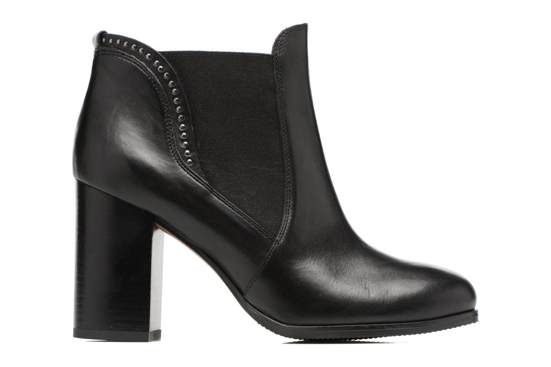 Bottines et boots Georgia Rose Aclous Noir vue derrière