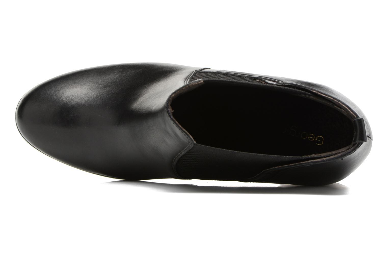 Bottines et boots Georgia Rose Aclous Noir vue gauche