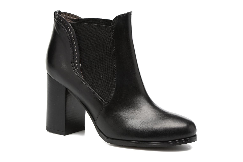 Bottines et boots Georgia Rose Aclous Noir vue détail/paire