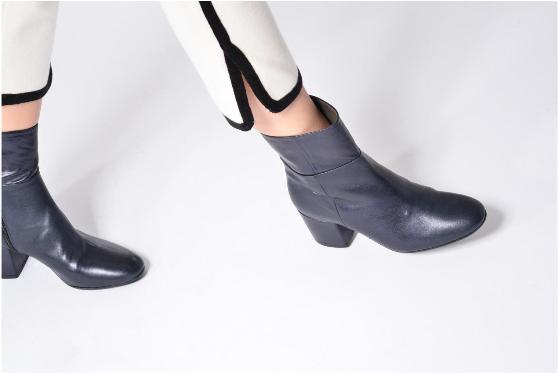 Bottines et boots Georgia Rose Anlala Bleu vue bas / vue portée sac