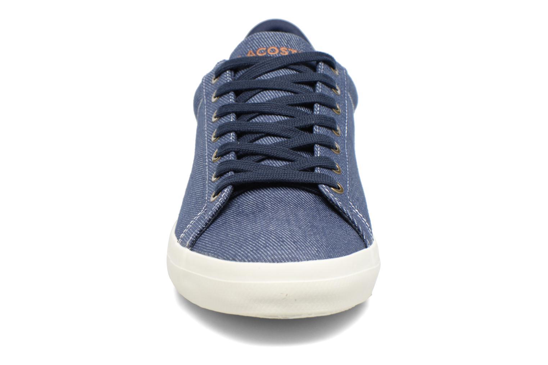 Baskets Lacoste LEROND 317 2 H Bleu vue portées chaussures