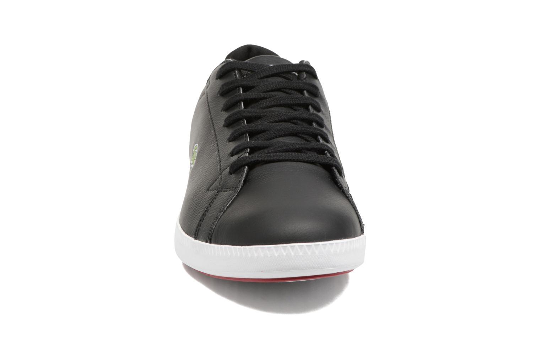 Baskets Lacoste GRADUATE LCR3 SPM Noir vue portées chaussures