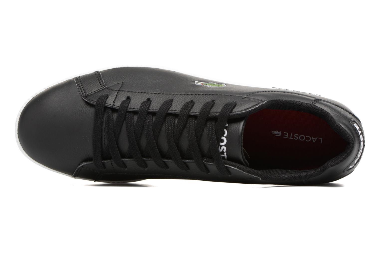 Sneakers Lacoste GRADUATE LCR3 SPM Zwart links