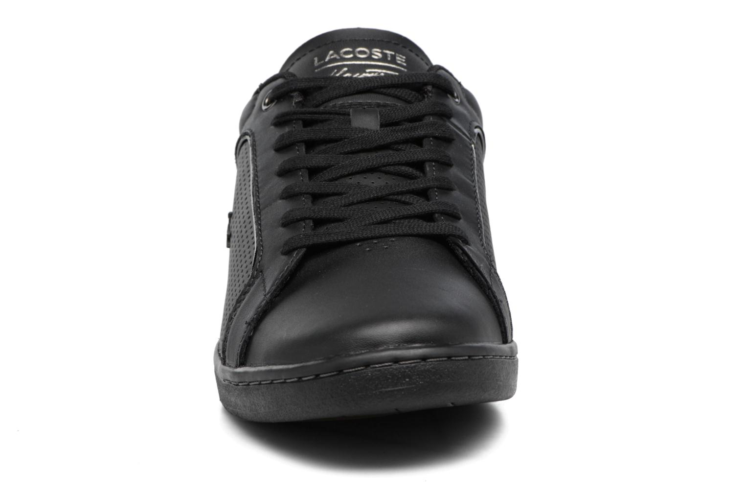 Baskets Lacoste CARNABY EVO 317 10 Noir vue portées chaussures