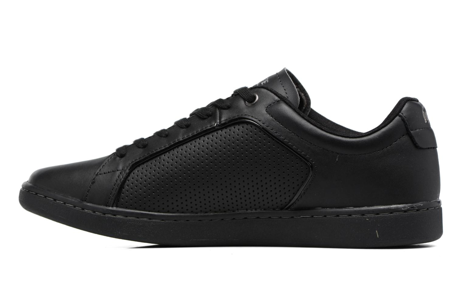 Baskets Lacoste CARNABY EVO 317 10 Noir vue face
