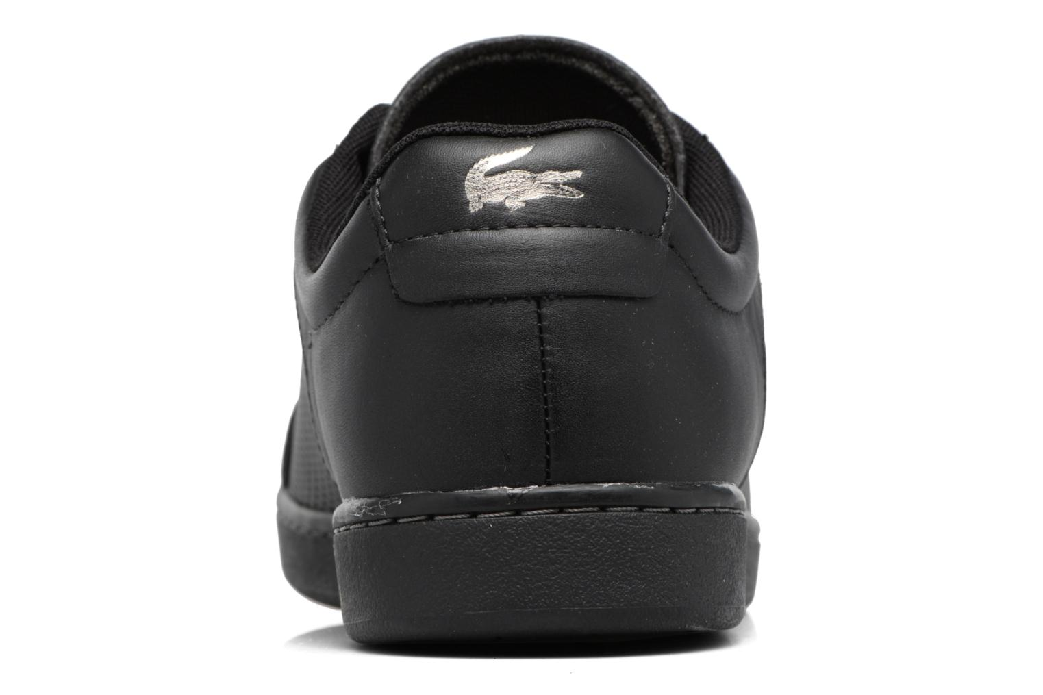 Baskets Lacoste CARNABY EVO 317 10 Noir vue droite