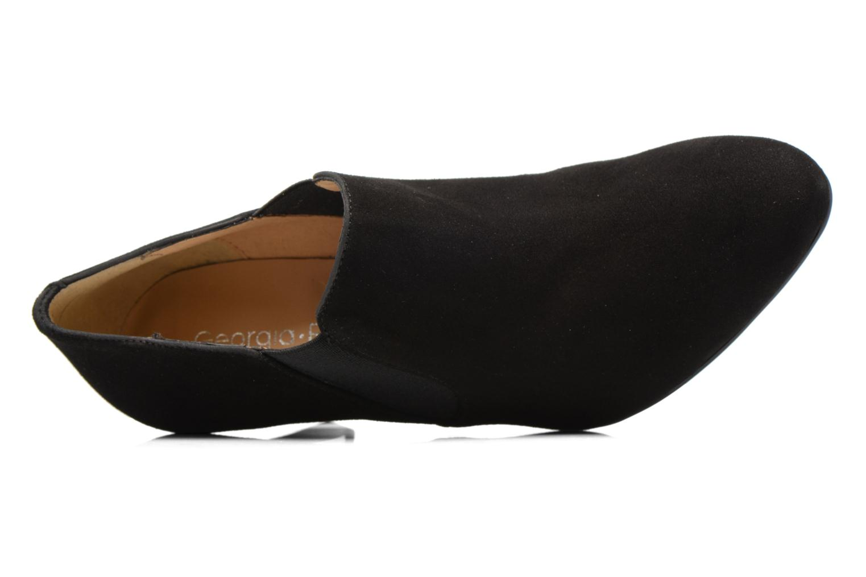 Bottines et boots Georgia Rose Safiana Noir vue gauche