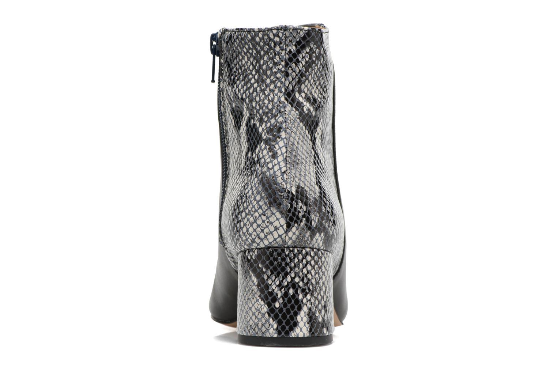 Bottines et boots Georgia Rose Serpenta Noir vue droite