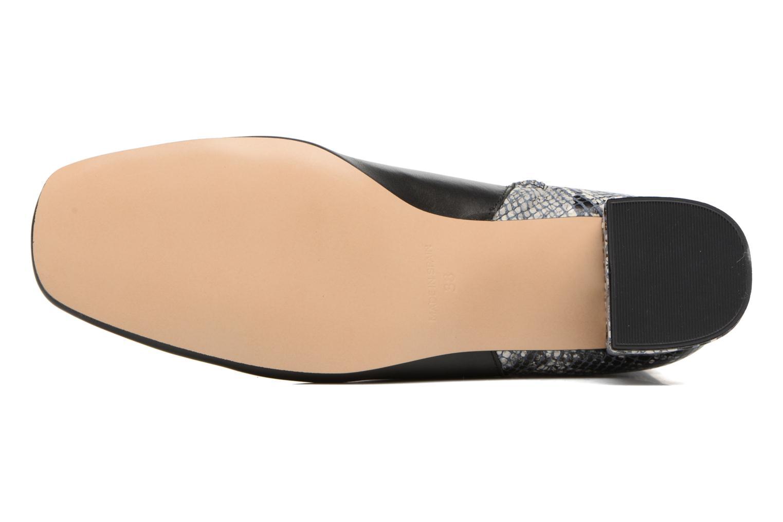 Bottines et boots Georgia Rose Serpenta Noir vue haut