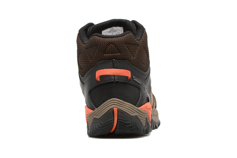 Chaussures de sport Merrell All Out Blaze 2 Mid Gtx Marron vue droite