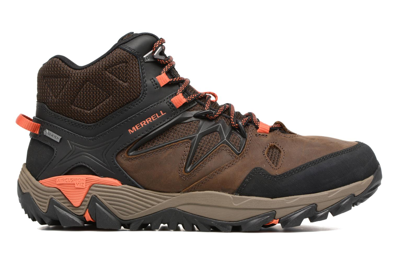 Chaussures de sport Merrell All Out Blaze 2 Mid Gtx Marron vue derrière