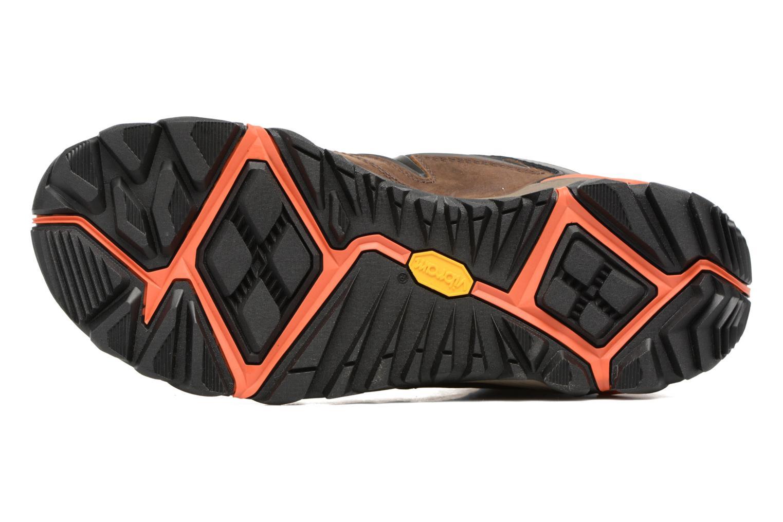Chaussures de sport Merrell All Out Blaze 2 Mid Gtx Marron vue haut