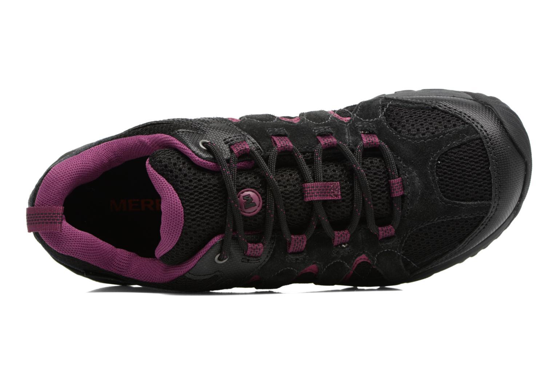Chaussures de sport Merrell Outmost Vent Gtx Noir vue gauche