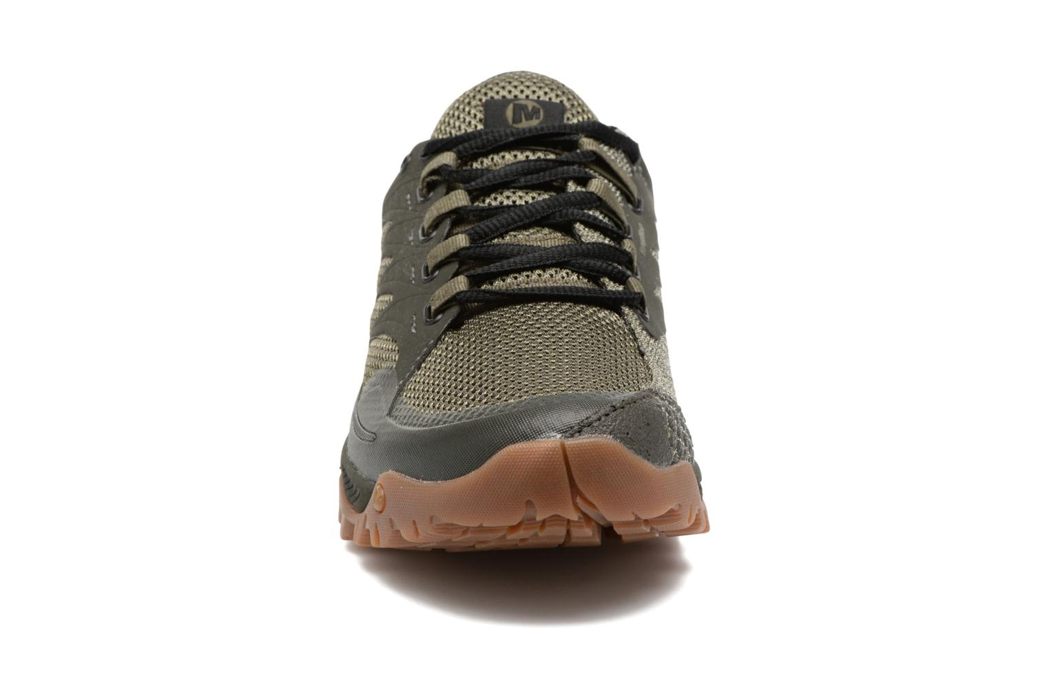 Chaussures de sport Merrell All Out Charge Vert vue portées chaussures