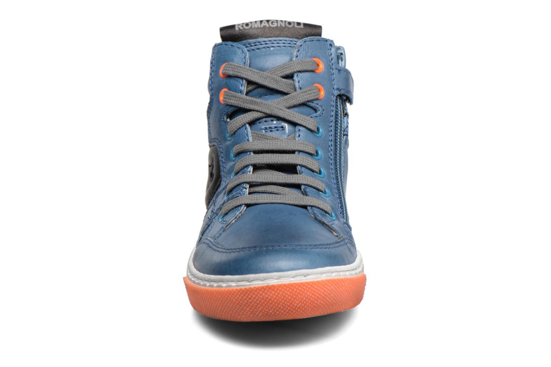 Baskets Romagnoli Arthur Bleu vue portées chaussures