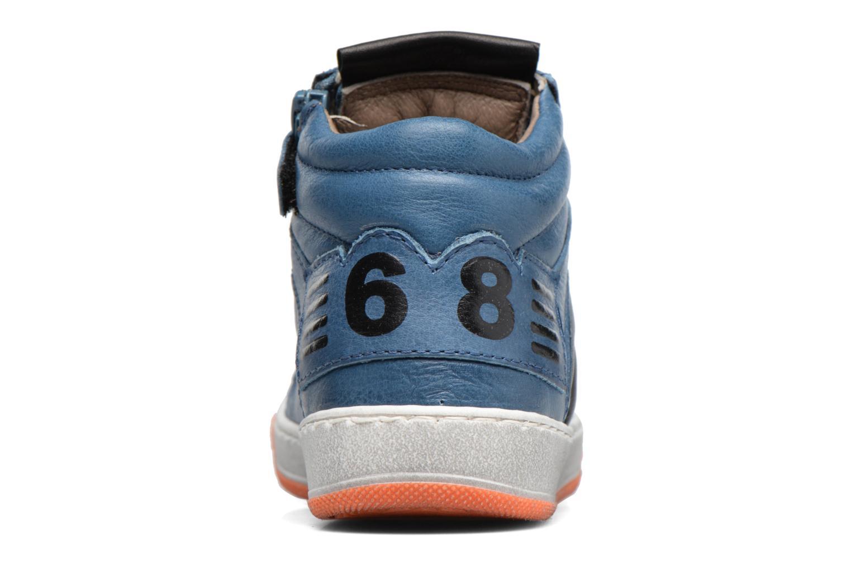 Baskets Romagnoli Arthur Bleu vue droite