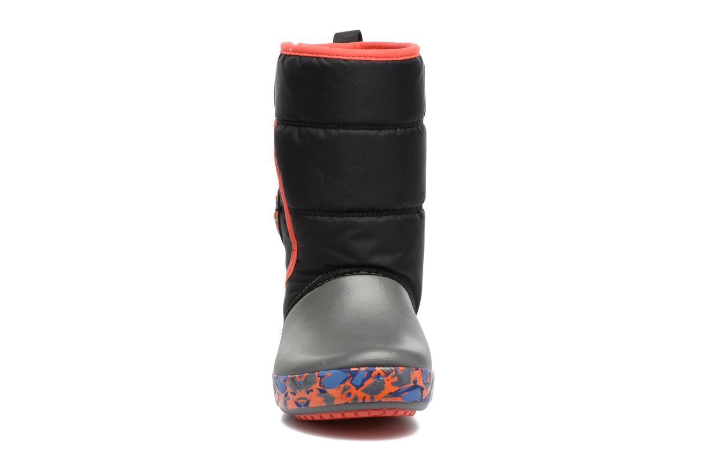 Sportschuhe Crocs CrocsLodgePt Lights RoboRex schwarz schuhe getragen