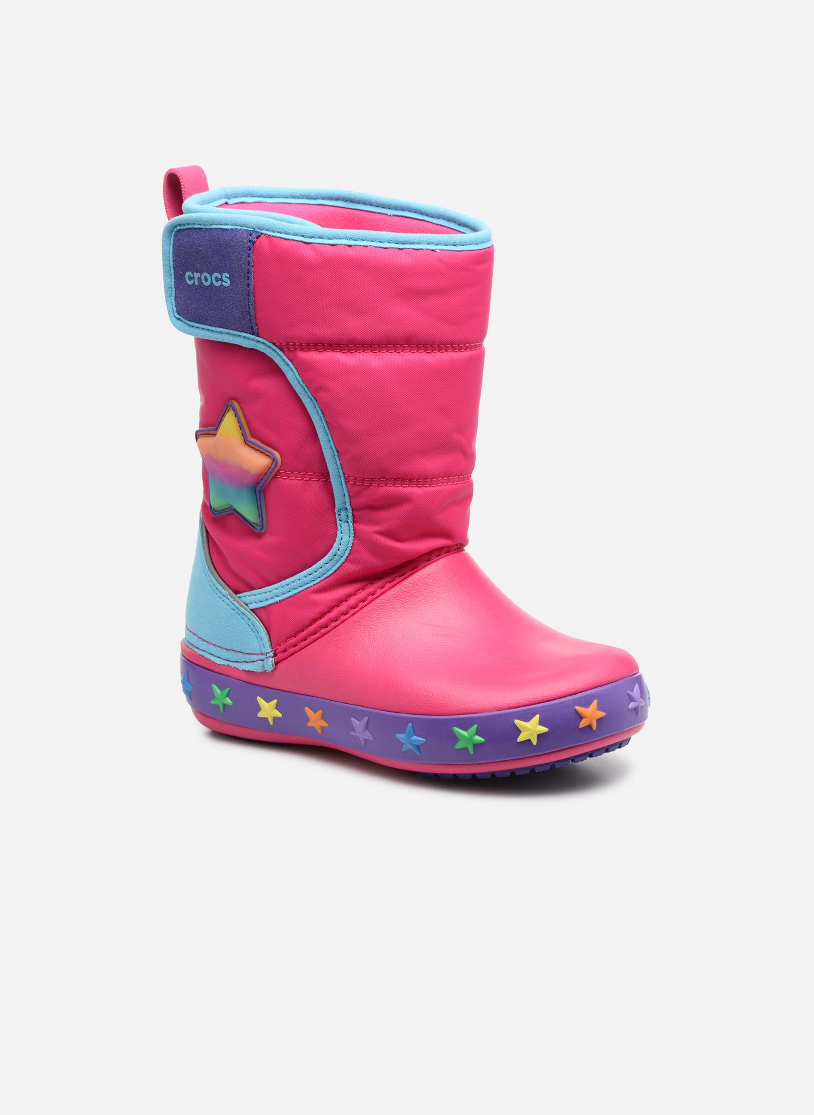Chaussures de sport Enfant CrocsLodgePt Lights Star