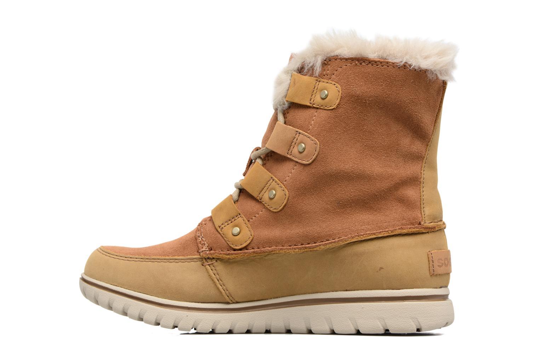 Chaussures de sport Sorel Cozy Joan Marron vue face