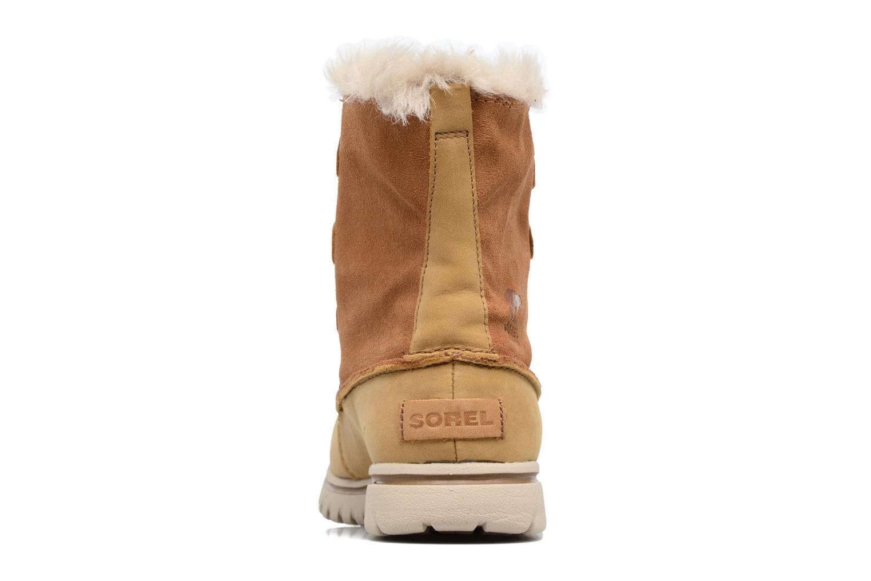 Chaussures de sport Sorel Cozy Joan Marron vue droite