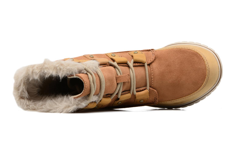 Chaussures de sport Sorel Cozy Joan Marron vue gauche