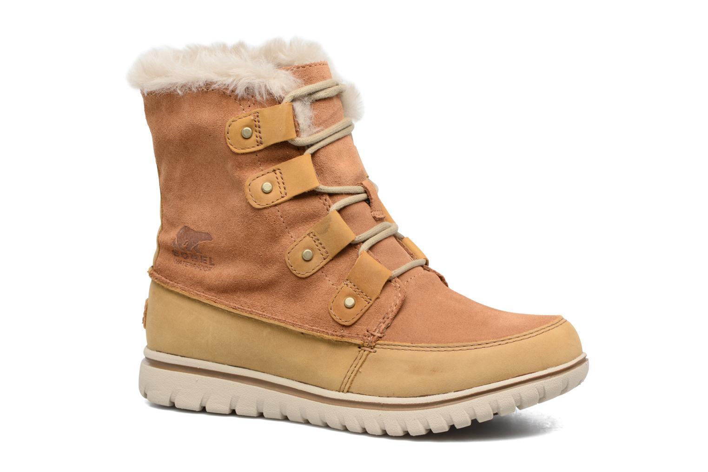 Chaussures de sport Sorel Cozy Joan Marron vue détail/paire