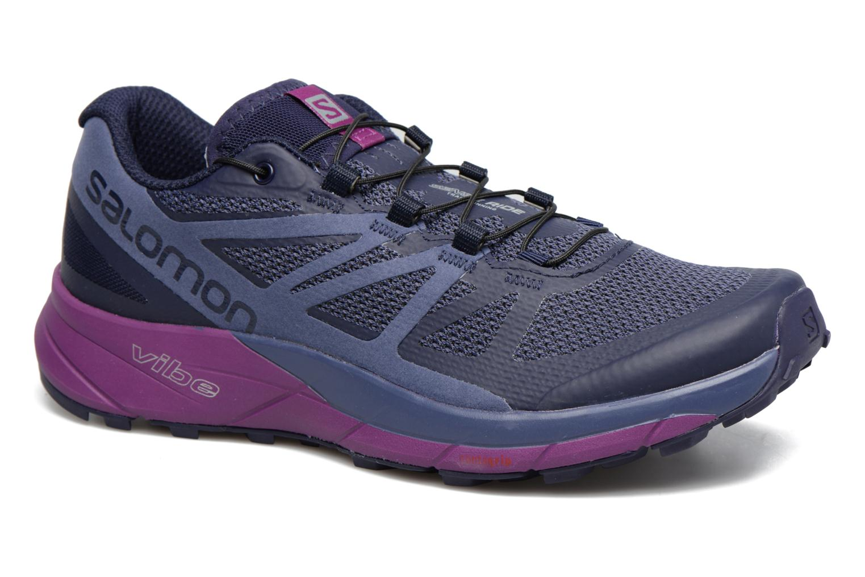 Sportschoenen Salomon Sense Ride W Blauw detail