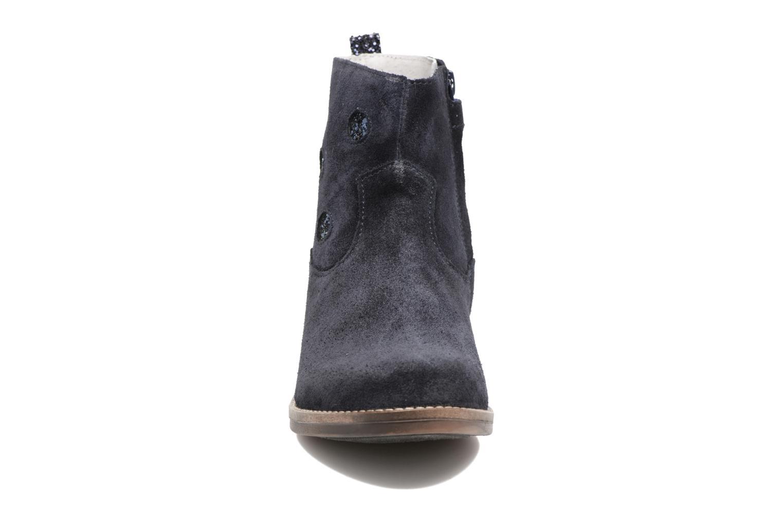 Bottines et boots Minibel Nour Bleu vue portées chaussures