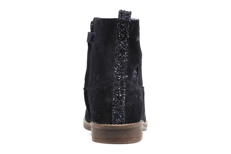 Bottines et boots Minibel Nour Bleu vue droite
