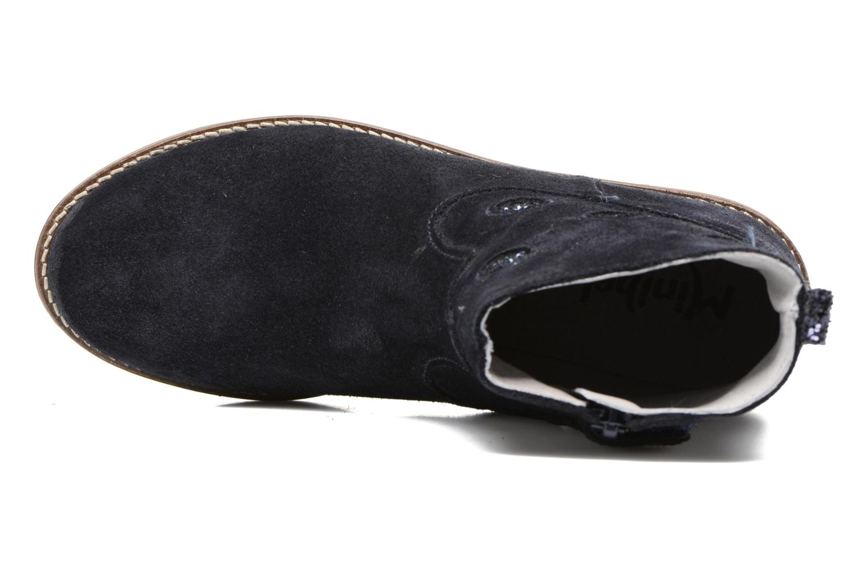 Bottines et boots Minibel Nour Bleu vue gauche