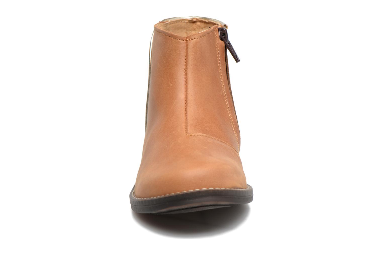 Bottines et boots Minibel Nubian Marron vue portées chaussures