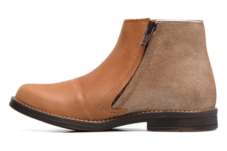 Bottines et boots Minibel Nubian Marron vue face