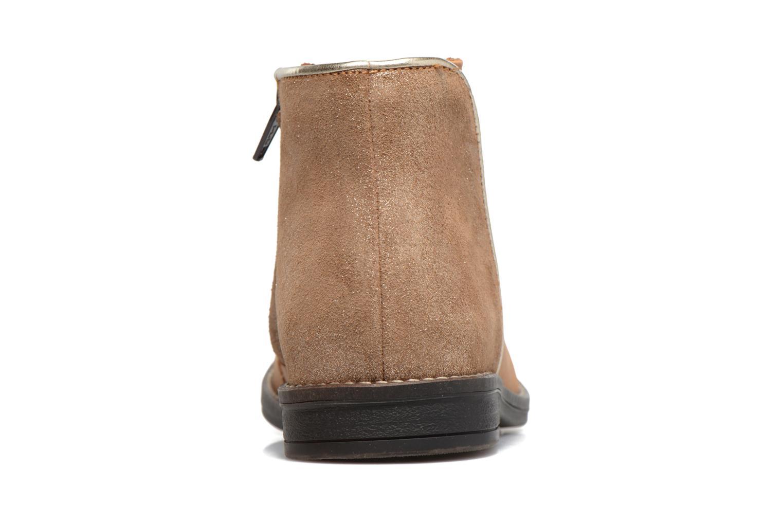 Bottines et boots Minibel Nubian Marron vue droite