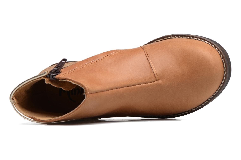 Bottines et boots Minibel Nubian Marron vue gauche