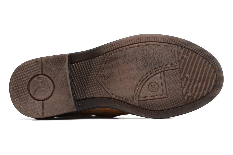 Bottines et boots Minibel Nubian Marron vue haut