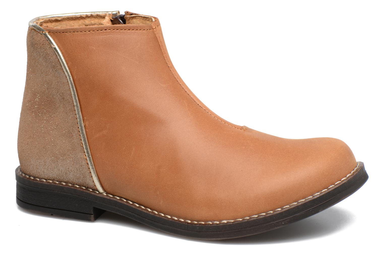 Bottines et boots Minibel Nubian Marron vue détail/paire