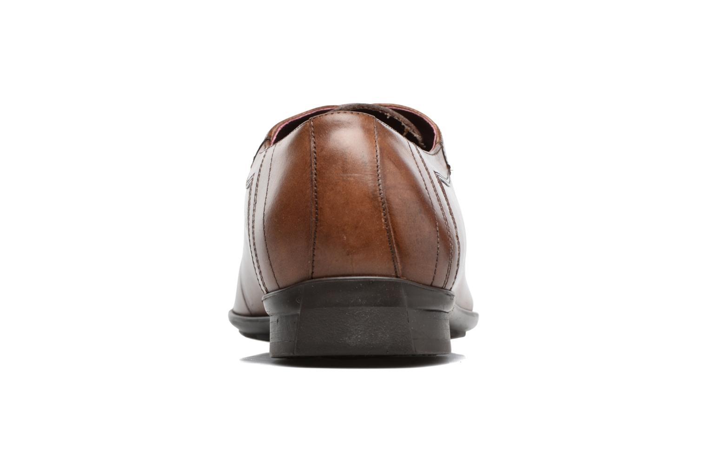 Chaussures à lacets Le Formier Mitford 45V2 Marron vue droite