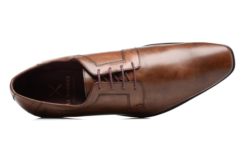 Chaussures à lacets Le Formier Mitford 45V2 Marron vue gauche