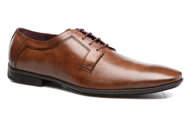 Chaussures à lacets Le Formier Mitford 45V2 Marron vue détail/paire