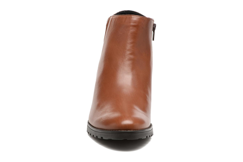Bottines et boots Mephisto Jamila Marron vue portées chaussures