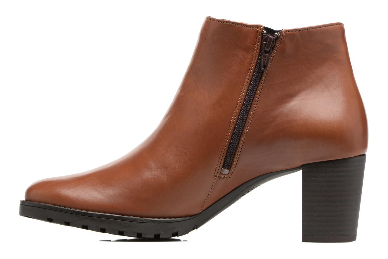 Bottines et boots Mephisto Jamila Marron vue face