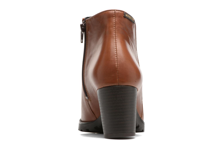 Bottines et boots Mephisto Jamila Marron vue droite