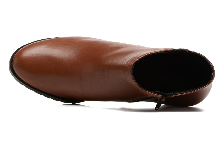 Bottines et boots Mephisto Jamila Marron vue gauche