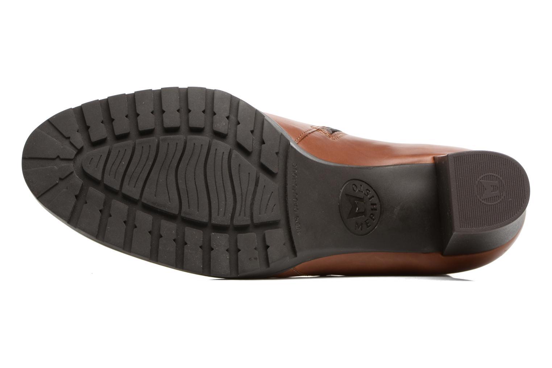 Bottines et boots Mephisto Jamila Marron vue haut
