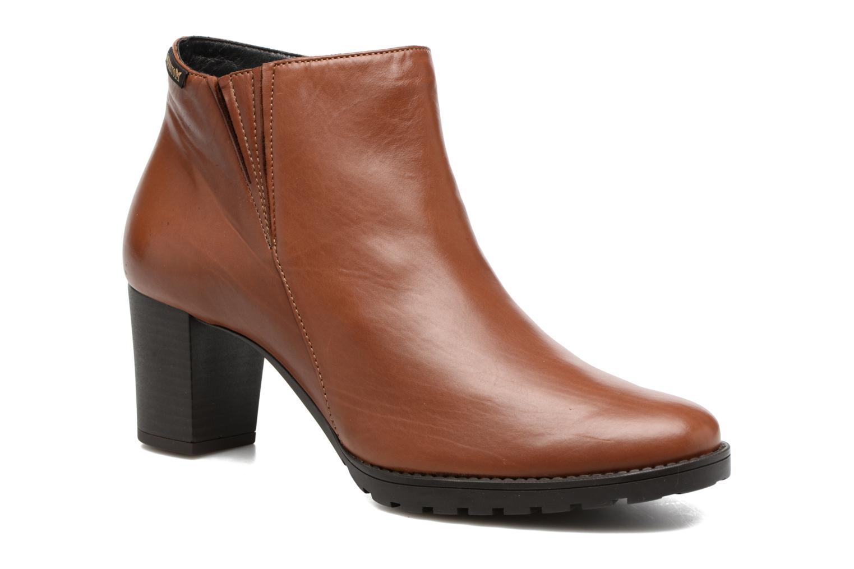 Bottines et boots Mephisto Jamila Marron vue détail/paire