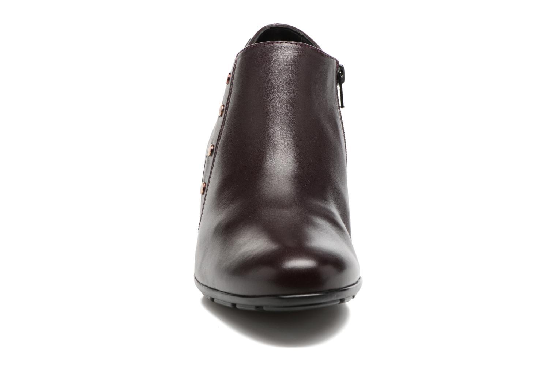 Bottines et boots Mephisto Bianka Rouge vue portées chaussures