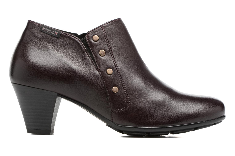 Bottines et boots Mephisto Bianka Rouge vue derrière