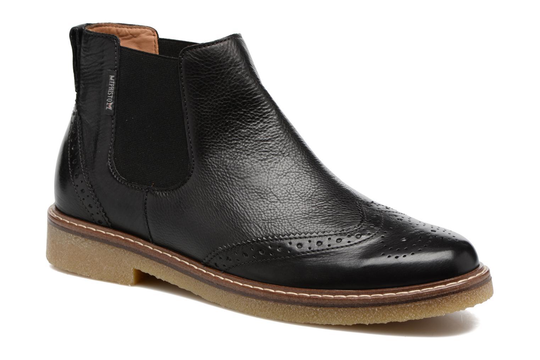 Bottines et boots Mephisto Felicita Noir vue détail/paire